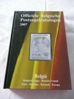 POSTZEGELCATALOGUS  BELGIE 2007 - België