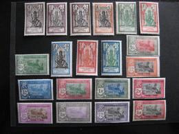 Inde: TB Série N° 85 Au N° 104, Neufs X . - Indië (1892-1954)