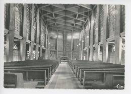 Baccarat : Intérieur De L'église - Kazis Nicolas Architecte DPLG (cp Vierge N°45) - Baccarat