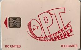 COMORES  -  Chip Card  -  OPT Des Comores  -  SC5  - 100 Unités - Comore