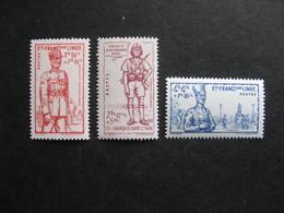 Inde: TB Série N° 123 Au N° 125, Neufs XX . - Indië (1892-1954)