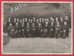 """Montignies S /Sambre - Charbonnage Du """" Poirier """"  - Photo Du Personnel En 1938 ... Centenaire ( Voir Verso , Noms  ) - Charleroi"""
