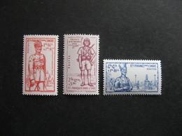 B). Inde: TB Série N° 123 Au N° 125, Neufs XX . - Indië (1892-1954)