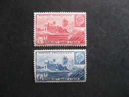 Inde: TB Paire N°126 Et N° 127, Neufs X . - Indië (1892-1954)