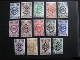 B). Inde: TB Série N° 217 Au N° 230, Neufs XX . - Indië (1892-1954)