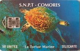 COMORES  -  Chip Card  -  SNPT Des Comores  -  SC7  - 50 Unités - Comore