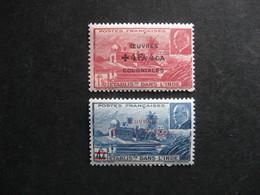 A). Inde: TB Paire N°231 Et N° 232, Neufs XX . - Indië (1892-1954)