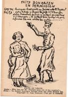 CPFM 1940 - Fritz Bonaryen En Permission - Antisémite - Jean Destours - Goering - Postmark Collection (Covers)