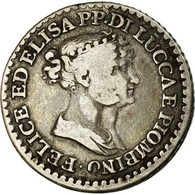 Monnaie, États Italiens, LUCCA, Franco, 1808, Firenze, TB+, Argent, KM:23 - Regional Coins