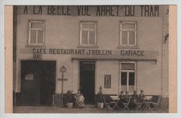 CBPN101/ CP Wavre CAFE RESTAURANT J ROLLIN GARAGE BAL A LA BELLE VUE ARRÊT DU TRAM MINT - Wavre