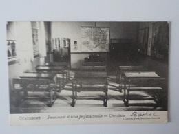 1907 CP Quatrecht Pensionnat Et Ecole Professionnelle Une Classe Wetteren J. Jacobs - Wetteren