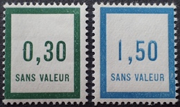 PP2990/29 - TIMBRES FICTIFS - N°F9 (174) + N°F17 (181) TIMBRES NEUFS** - Phantomausgaben
