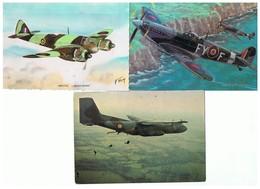 2009-718  3cp  Aviation Bristol  Spitfire  Et Transal? La Vente Sera Retirée Le 08-03 - Militari