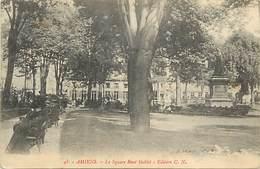- Somme -ref-C190- Amiens - Square René Goblet - Squares - Carte Bon Etat - - Amiens