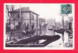 F-92-Boulogne Billancourt-22A87  Inondation De 1910, La Rue De Meudon, Cpa - Boulogne Billancourt