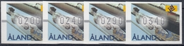 +B1773. Åland 1997. ATM 8. (4 Items). MNH(**) - Aland