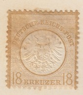 ALLEMAGNE. EMPIRE. GRAND AIGLE. 18G. CHARNIERE. - Germany
