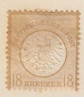 ALLEMAGNE. EMPIRE. GRAND AIGLE. 18G. CHARNIERE. - Unused Stamps