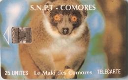 COMORES  -  Chip Card  -  SNPT Des Comores  - Maki -  SC7  - 25 Unités - Comoren