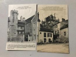 2 Cartes LUXEUIL Maison Du Bailli Maison Carree - Luxeuil Les Bains