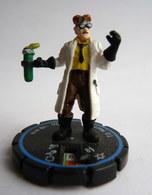 FIGURINE HEROCLIX DC  T.O. MORROW Rareté 3 Socle BLEU - Batman