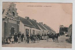 CBPN103/ CP Leffinghe-Lez-Ostende La Basse Ville Animée Chevaux Buggy - Sulky - Oostende