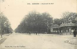 - Somme -ref-C188- Amiens - Boulevard Du Mail - Patissere Poirel Lamarre - Patisseries - Buvette - Terrasse Du Pavillon - Amiens