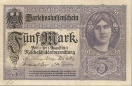 ALLEMAGNE / EMPIRE ALLEMAND BILLET DE 5 MARK  BON ETAT - [ 2] 1871-1918 : Impero Tedesco