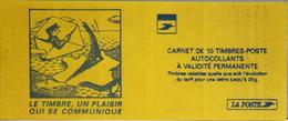 FR. CARNET 3085a-C2 NEUF NON PLIE - Marianne Du 14 Juillet - 10 Timbres TVP Neufs Autoadhésifs - Usados Corriente