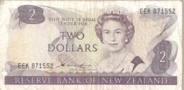 NEW ZELAND /NOUVELLE ZELANDE / BILLET DE 2 $ - New Zealand
