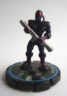 FIGURINE HEROCLIX DC INTERGANG AGENT Rareté 3 Socle BLEU - Batman