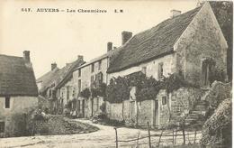 AUVERS-sur-OISE  ( Val  D ' Oise )  -  Les  Chaumières - Auvers Sur Oise