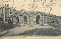 - Somme -ref-C186- Amiens - Le Marché Lanselles - Marchés - Batiments Et Architecture - Carte Bon Etat - - Amiens
