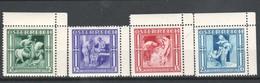 """Österreich 1936: """"Winterhilfe (3)"""" 4628/31 Postfrisch * (s.Foto) - Used Stamps"""