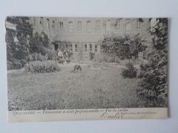 1908 CP Quatrecht Pensionnat Et Ecole Professionnelle Vue Du Jardin  Autre Wetteren J. Jacobs - Wetteren