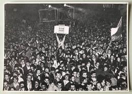Carte Postale Tirage Limité Numéroté Place De La Bestille 10 Mai 1981 élection François Mitterrand Président République - Evenementen