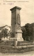 GD  (88) Vosges -  CORNIMONT - LE MONUMENT AUX MORTS - Gerardmer