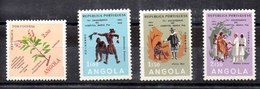 Angola Series Completa N ºYvert 407+408/10 ** - Angola