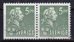 SE122 – SUEDE – SWEDEN – 1940 – CARL MICHAEL BELLMANN – Y&T 279d USED 75 € - Gebruikt