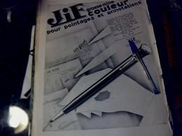 Publicité De Presse 30 X 40 Cm Année 1928   Double Page STYLOMINES Jif & Mode Des Sports D'hiver SAINT Didier Sport - Publicités