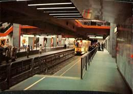 CP - Belgique - Brussels - Bruxelles - Metro - L2 - Porte Namur - Transport Urbain Souterrain