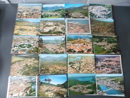 LOT  DE  221  CARTES  POSTALES   VUES AERIENNES   DE  FRANCE - Cartes Postales