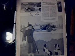 Publicité De Presse 30 X 40 Cm Année 1927    Automobile LA Salle Vs Différentes Pubs Cf Photos - Publicités