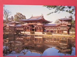 Japon - Hōōdō - The Phoenix Hall - Byōdō In Temple - Excellent état- Recto Verso - Kyoto