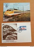 HAUTMONT Baptême Du TGV 18/19 Juin 1983 - Andere