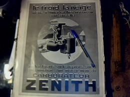 Publicité De Presse 30 X 40 Cm Année 1927 Double Page Carburateurs Zénith & Aspirateur Electro-lux - Publicités