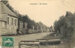 - Somme -ref-C175- Auchonvillers - Rue Delattre - - France