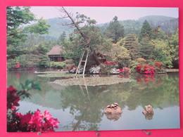 Visuel Très Peu Courant - Japon - Kyoto - Ryoan Ji Temple - Oshidori Ike Pond - Excellent état- Recto Verso - Kyoto