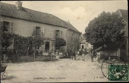 Cp Dambelin Lothringen Vosges, Place Du Centre - Andere Gemeenten