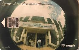 COMORES  -  Chip Card  - SNPT Des Comores  - L'ACTEL -  SC7  - 50 Unités - Comoren